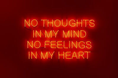 Eda Sütunç, ' No thoughts in my mind, no feelings in my heart', 2020