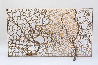 David Wiseman, 'Collage Fireplace Screen', 2014