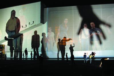 Rafael Lozano-Hemmer, 'Body Movies', 2001