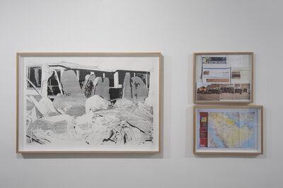 Manal AlDowayan, 'Crash - Ha'il (Crash, Map and Research)', 2014
