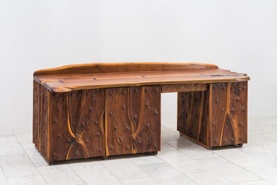 Phillip Lloyd Powell, 'Phillip Lloyd Powell, Unique Carved Desk, USA', 1965