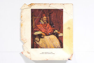 Zorawar Sidhu, 'Portrait of Pope Innocent X, After Velásquez and Bacon', 2014