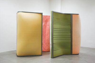 Claudia Piepenbrock, 'Kabinenbogen, teilentspannt', 2017