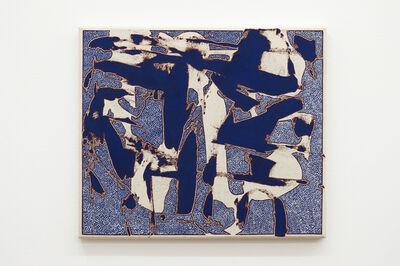 Zak Prekop, 'Transparent Blue with Unmeasured Pattern', 2016
