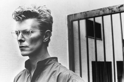 Helmut Newton, 'Bowie and Bowie Jail House', 1985