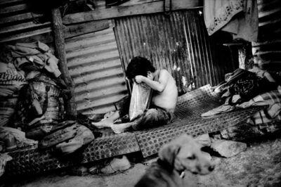 Matt Black, 'A boy inside his family's tin house. Santiago Mitlatongo, Mexico.', 2012