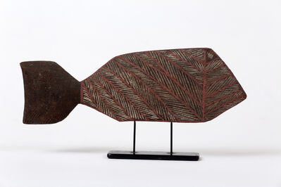 Unknown Artist, 'Untitled (Coral Fish), Anindilyakwa people, Anindilyakwa (Groote Eylandt), Northern Territory', ca. 1960