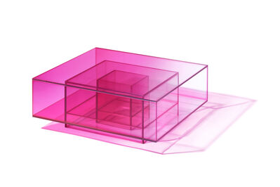 Studio BUZAO, 'NULL Hot Pink Coffee Table', 2020