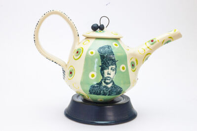 Theresa Robinson, 'Lithograph printed Teapot with Stand', 2018