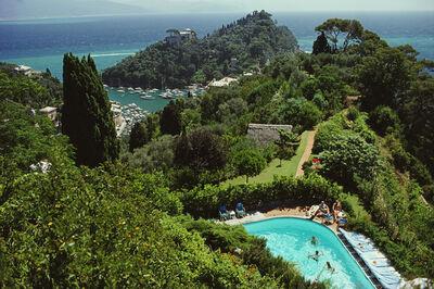 Slim Aarons, 'Portofino Villa', 1977