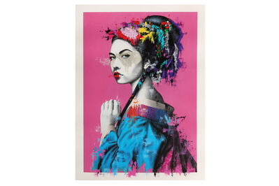 Fin Dac, 'Shinka Pink & White Gold Leaf Edition', 2018