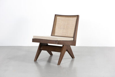 "Pierre Jeanneret, '""Armless easy chair""', ca. 1960"