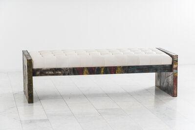 Paul Evans (1931-1987), 'Paul Evans, Sculpted Steel Bench, USA', 1960-1969