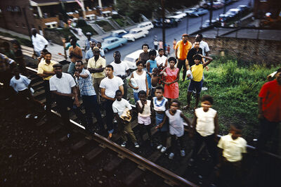 Paul Fusco, 'Untitled from RFK Funeral Train', 1968