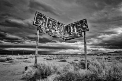 Keith Skelton, 'Cafe & Motel. Route 66 on the National Trails Highway. 2018', 2018