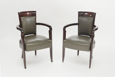 Pierre Patout, 'Pair of Armchairs', ca. 1930s