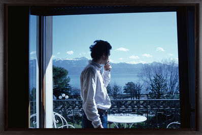 Nan Goldin, 'David H. on the terrace, Hotel Beau Rivage Palace, Lausanne', 1998