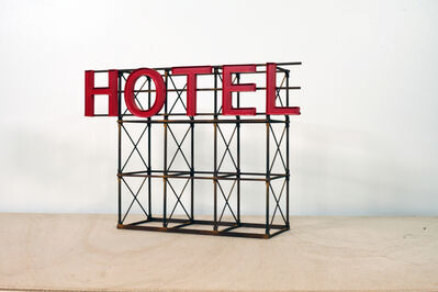 Drew Leshko, 'Red Hotel #1', 2019