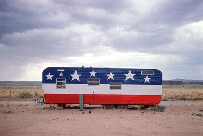John Baeder, 'Trailer, Arizona, Route 66', 1975