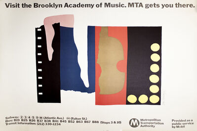 Ivan Chermayeff, 'MTA: Visit the Brooklyn Academy of Music'