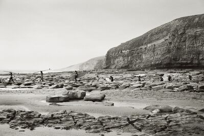 Priscilla Rattazzi, 'Surfers at Southerndown, Wales, UK', 2009