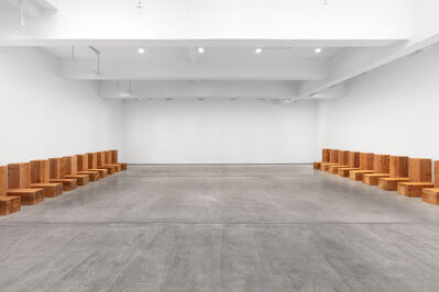 Carl Andre, 'Diarch', 1979