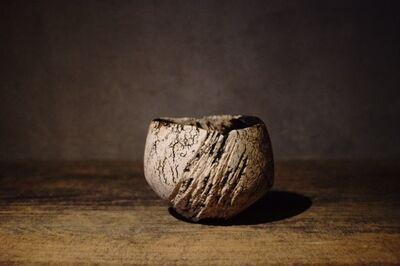 Yukiya Izumita 泉田之也, ''Hen' Flake tea bowl', 2018