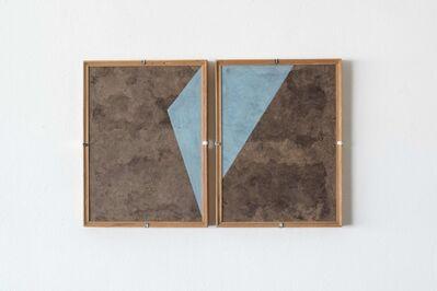 Dario Escobar, 'Composiciones Azules No.4', 2016