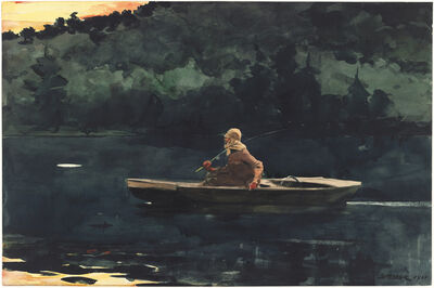 Winslow Homer, 'The Rise', 1900