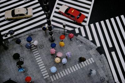 Harry Gruyaert, 'Crossing in the Ginza district, Tokyo, Japan', 1996