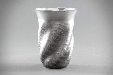 "Osumi Yukie, 'Silver Vase ""Sea Breeze""', 1998"