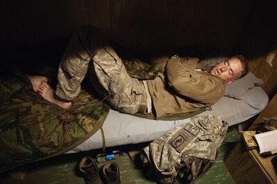 Tim Hetherington, 'Untitled, Nevalla, Korengal Valley, Afghanistan', 2008