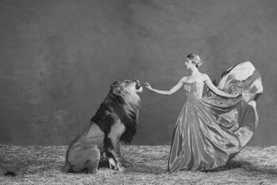 Tyler Shields, 'The Lion Queen', ca. 2019
