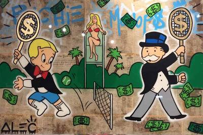 Alec Monopoly, 'Monops vs. Richie Tennis', 2017