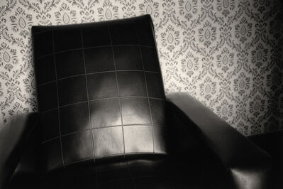 Max Kellenberger, 'Big Black Chair, Burgundy, France', 1983