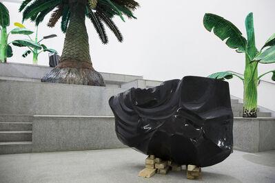 Yutaka Sone, 'Obsidian Made From Black Stone (No. 1 & No. 2)', 2017