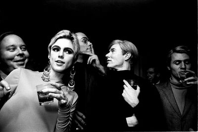 Steve Schapiro, 'Warhol and Sedgwick Entourage, NYC', 1965