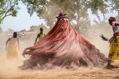 Carol Beckwith and Angela Fisher, 'Yoruba Voodoo Mask, Burkina Faso ', 2014