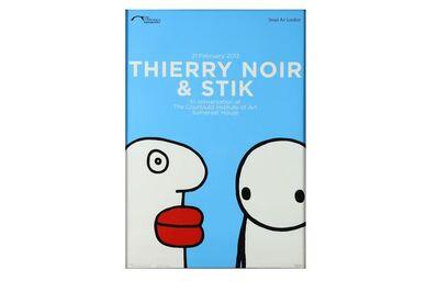 Stik, 'Thierry Noir & STIK', 2013