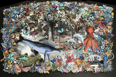 Kristjana S Williams, '(KFS) Marine Menagerie: Deep Dwellers', 2019