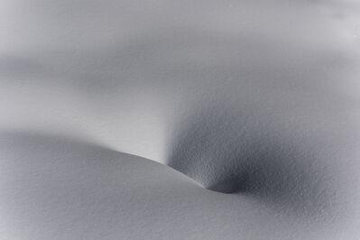 Peter Vanderwarker, 'Snow near Lone Star Geyser', 2017