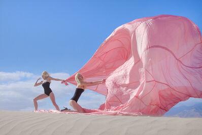 Tyler Shields, 'Pink Parachute', 2016