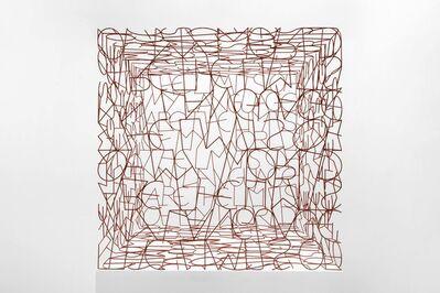 Tom Phillips, 'Wittgenstein's Cage', 2009