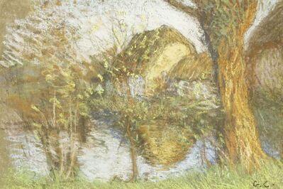George Clausen, 'THE FARM POND'