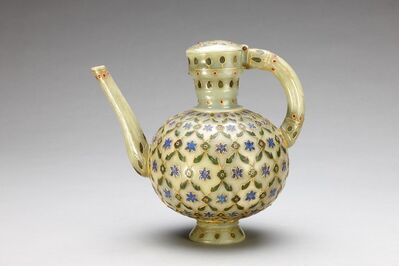 Unknown Artist, 'One-Handled Jug Inlaid with Gold and Precious Stones', 18