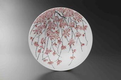 Obata Yuji, 'SHIDARE SAKURA Plate', 2019