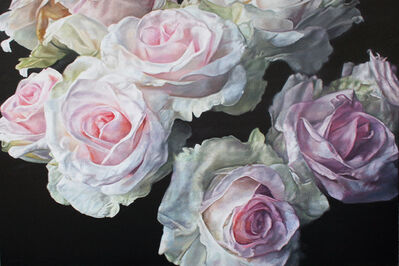 robert lemay, 'Winter Roses', 2019