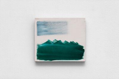 charlie jeffery, 'White Mountain scape', 2018