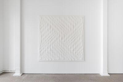 Enrico Castellani, 'Superficie Bianco', 2002