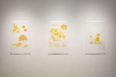 Asma Kazmi, 'Fruit from Elsewhere- drawing ', 2020